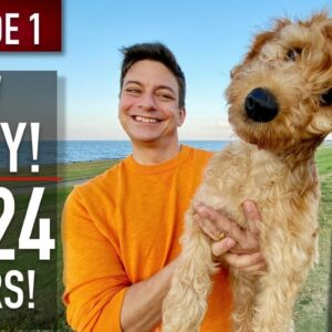 NEW PUPPY SURVIVAL GUIDE: The First 24 Hours! (NEW SERIES! EPISODE 1)