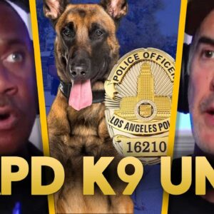 LAPD - CHIEF K9 TRAINER discusses what it takes to be a POLICE DOG - EP.74