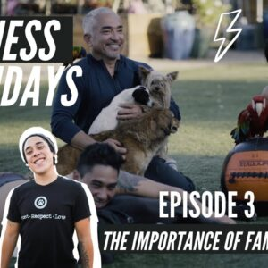 CESAR MILLAN WORKS OUT WITH HIS TWO SONS! FITNESS FRIDAYS!
