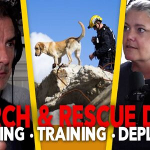 Turning SHELTER DOGS Into LIFE SAVING Search & Rescue Dogs (SAR)- EP.81