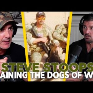 Training Military Working Dogs - Steve Stoops Episode 86