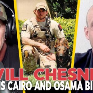 The SEAL TEAM SIX DOG that took down Osama Bin Laden - Will Chesney and Cairo - EP 87